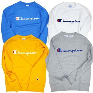 Champion/チャンピオン/Logo Print Crewneck Sweat/ロゴプリントスウェット/C3-H004|gpstore