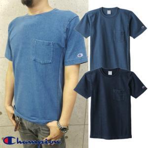 Champion/チャンピオン/REVERSE WEAVE Pocket T-shirt/リバースウィーブポケット付きTシャツ/C3-H307|gpstore