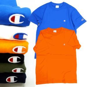 Champion/チャンピオン/ワンポイントロゴ刺繍Tシャツ/C3-H359|gpstore