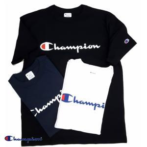 Champion/チャンピオン/スクリプトロゴプリントTシャツ/筆記体ロゴ/C3-H374|gpstore