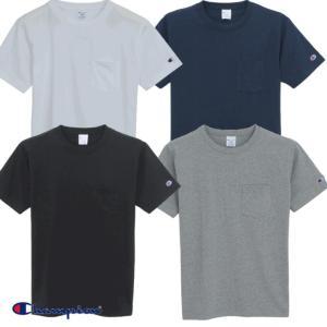 Champion/チャンピオン/無地ポケット付きTシャツ/C3-K340|gpstore