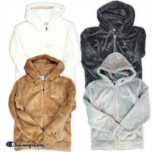Champion/チャンピオン/Sherpa Fleece Zip Hood Jacket/シェルパフリースジップフードジャケット/C3-L615|gpstore