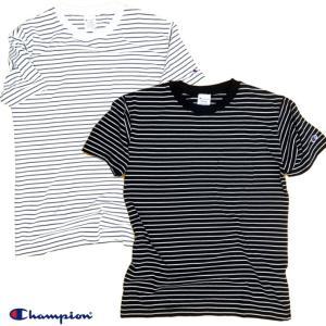 Champion/チャンピオン/Border Pocket T-shirt/ボーダーポケットTシャツ/C3-M352|gpstore