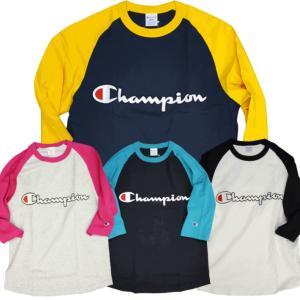 Champion/チャンピオン/ラグラン7分袖Tシャツ/C3-P405|gpstore
