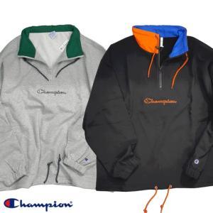 Champion/チャンピオン/Half Zip Pullover Sweat Shirt/ハーフジッププルオーバースウェットシャツ/C3-R002|gpstore