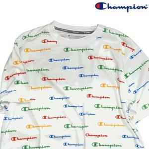 Champion チャンピオン Tシャツ 半袖 メンズ カットソー T-shirts ロゴ 吸汗速乾 ドライ スポーツ トレーニング ランニング ジム (ネコポス便)|gpstore