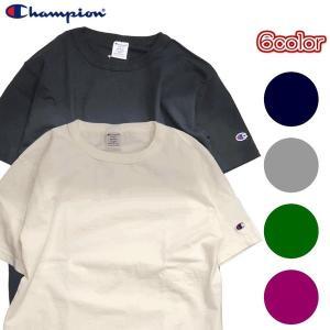 Champion チャンピオン Tシャツ 半袖 メンズ カットソー 無地 USA T1011 ティーテンイレブン ベーシック シンプル (ネコポス便/送料無料)|gpstore