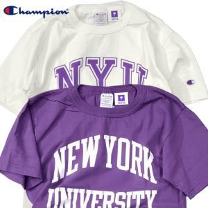 Champion/チャンピオン/T1011 MADE IN USA T-shirt/ティーテンイレブンアメリカ製Tシャツ NEWYORK UNIVERSITY NYU ニューヨーク大学/C5-R301|gpstore