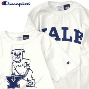 Champion チャンピオン Tシャツ 半袖 メンズ  T-shirts カットソー USA アメリカ イエール T1011 ティーテンイレブン (ネコポス便/送料無料)|gpstore