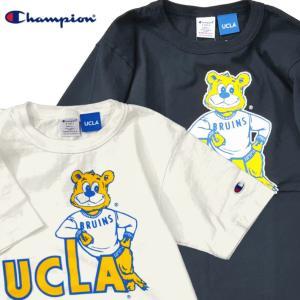 Champion チャンピオン Tシャツ 半袖 メンズ カットソー T-shirts アメリカ製 USA T1011 ティーテンイレブン UCLA ロサンゼルス (ネコポス便/送料無料)|gpstore