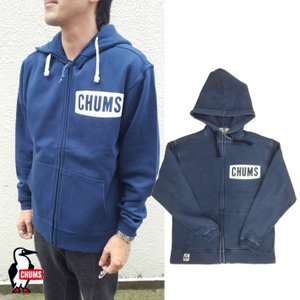 CHUMS/チャムス/Boat Logo Zip Parka Indigo/ボートロゴジップパーカーインディゴ/CH00-1098|gpstore