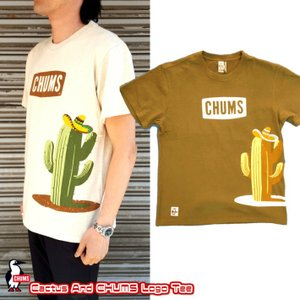 CHUMS/チャムス/Cactus And CHUMS Logo T-Shirt/カクタスアンドチャムスロゴTシャツ/CH01-1237|gpstore