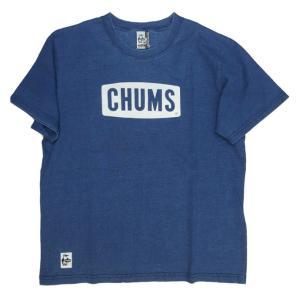 CHUMS/チャムス/Logo T-Shirt Indigo/ロゴTシャツインディゴ/CH01-1337|gpstore
