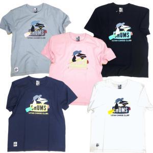 CHUMS/チャムス/Booby Canoe Club T-Shirt/ブービーカヌークラブTシャツ/CH01-1347|gpstore