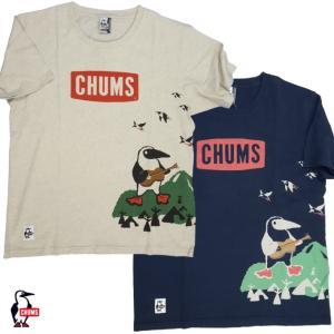 CHUMS/チャムス/Acoustic Booby T-Shirt/アコースティックブービーTシャツ/CH01-1358 gpstore