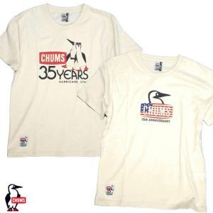 CHUMS/チャムス/35th Anniversary T-Shirt/35周年記念Tシャツ/CH01-1388|gpstore