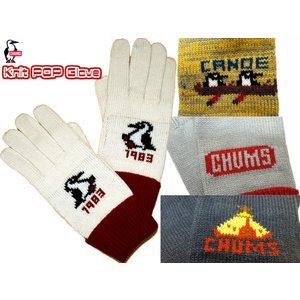 CHUMS/チャムス/Knit POP Glove/ニットポップグローブ/CH09-1019|gpstore