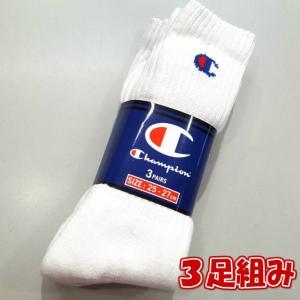 Champion/チャンピオン/Full Length 3p Socks/フルレングス3足組みソックス/CMSCH001|gpstore
