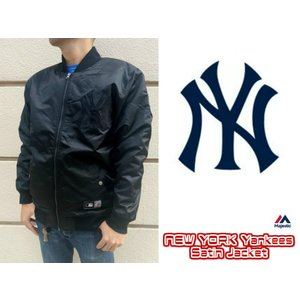 Majestic/マジェスティック/NEWYORK Yankees Satin Jacket/ヤンキースサテンジャケット/MM23NYK0064|gpstore