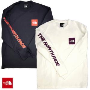 THE NORTH FACE/ザノースフェイス/L/S Square Logo Sleeve Tee/ロングスリーブスクエアロゴスリーブTシャツ/NT31951|gpstore