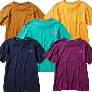 THE NORTH FACE ノースフェイス Tシャツ 半袖 メンズ カットソー ロゴ  速乾 シンプル (ネコポス便/送料無料) gpstore