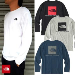 THE NORTH FACE/ザノースフェイス/LS Square Logo Tee/ロングスリーブスクエアロゴTシャツ/NT81743|gpstore