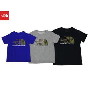 ◆THE NORTH FACE/ザノースフェイス/Kids S/S Camo Logo Tee/キッズショートスリーブカモロゴティー/NTJ31992|gpstore