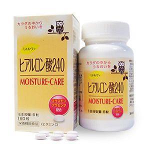 京都薬品ヘルスケア・ミネルヴァ ヒアルロン酸240(180粒)栄養機能食品サプリメント|gpt