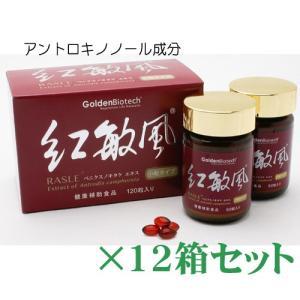アントロキノノール・紅敏風・小粒(120)×12箱セット リピート専用!|gpt