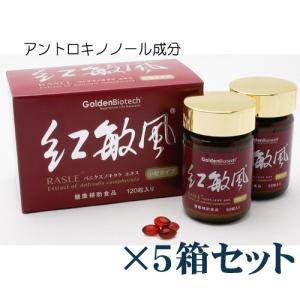 アントロキノノール・紅敏風・小粒(120)×5箱セット リピート専用!|gpt