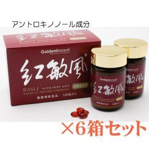アントロキノノール・紅敏風・小粒(120)×6箱セット リピート専用!|gpt