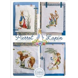 PIERROT-LAPIN No.2 - 15 ILLUSTRATIONS ピーターラビット No....