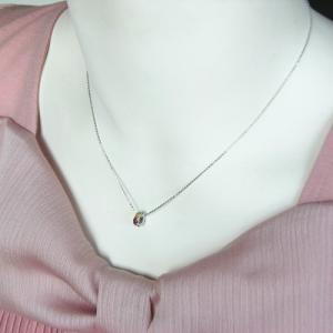 Sサイズ K10ホワイトゴールド 厄除けには7色の長い物 厳選した天然石を使った幸運を呼ぶ七色セブンカラー 不動の人気を誇るエタニティリングペンダント gradior 06