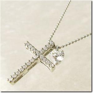 着け方は自由に3パターン 3way 聖なる十字架クロスとプチハートペンダント シルバーカラーmeミー|gradior|02