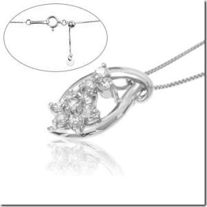 プラチナ900×プラチナ850使用の一生もの!結婚記念日の贈り物ランキングNo.1 ダイヤモンドペンダント |gradior|02