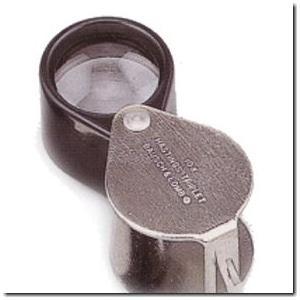 超軽量たった14g ボシュロム宝石用ルーペ|gradior