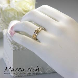 K10ゴールド×ダイヤモンド ハワイアンリング【Marea rich/マレア リッチ】GD-11KJ-03|gradior|05