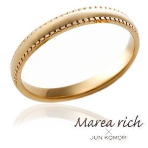 K10ゴールド ペアリング(男性用) /13号〜23号 【Marea rich/マレア リッチ】GD-11KJ-19|gradior