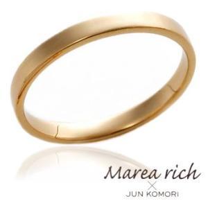 K18ゴールド ペアリング(男性用) /13号〜23号 【Marea rich/マレア リッチ】GD-11KJ-27|gradior