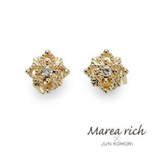 10金ゴールド ダイヤモンド クラシカル スタッドピアス 人気ブランド|クリスマスプレゼント|ホワイトデーお返し|誕生日プレゼント|gradior
