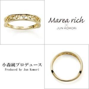 10金ゴールド ダイヤモンド 透かしクラシカル リング 指輪 レディースジュエリー 人気ブランド|クリスマスプレゼント|ホワイトデーお返し|gradior|02