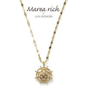 K10ゴールド×ダイヤモンド クラシカルネックレス【Marea rich/マレア リッチ】 GD-13KJ-04|gradior