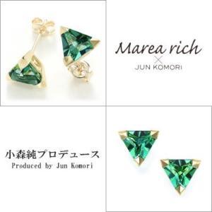 K10ゴールド レインフォレストトパーズ スタッドピアス|Marea rich/マレア リッチ||gradior|02
