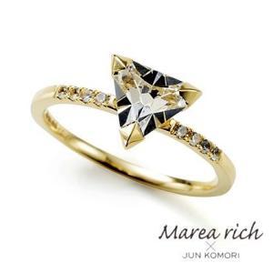 10金ゴールド ホワイトトパーズ ホワイトサファイヤ リング 指輪 レディースジュエリー 人気ブランド|クリスマスプレゼント|ホワイトデーお返し|gradior