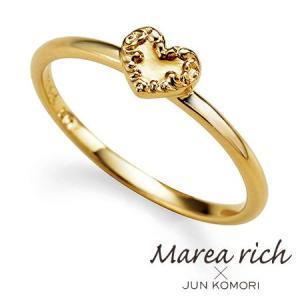 K10ゴールド ハートモチーフ リング|5号-15号|Marea rich マレア リッチ||gradior