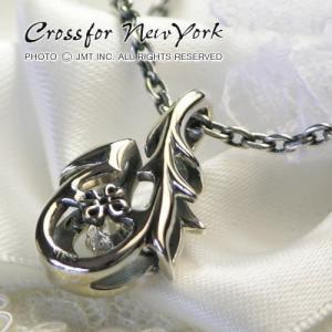 クロスフォーニューヨーク  シルバー メンズネックレス|男性用|人気ブランド Crossfor New York Dancing Stone|Tribal hook||gradior|03