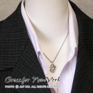 クロスフォーニューヨーク  シルバー メンズネックレス|男性用|人気ブランド Crossfor New York Dancing Stone|Tribal hook||gradior|05