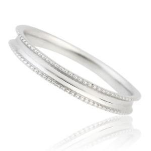 《単品|メンズ》K10ホワイトゴールドペアリング(ダイヤ無し)|マリッジリング|結婚指輪|11号-21号|gradior