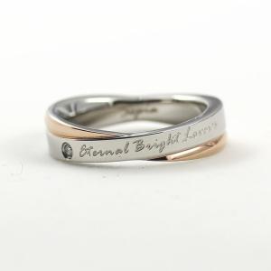 ペアリングのレディース 単品 天然ダイヤモンド ステンレス|指輪|人気ペアジュエリーSepia|クリスマスプレゼント|贈り物||gradior