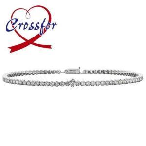 クロスフォーニューヨーク テニスブレスレット Sparkle|Crossfor New York|